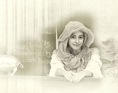 Historical Reenactments Photograph - Renaissance Woman by Camille Lopez