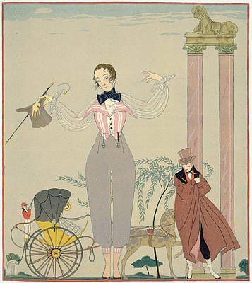 Rendez-vous  Print by Georges Barbier