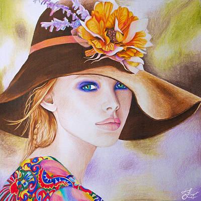 Lilacs Drawing - Renewal by Alaina Ferguson