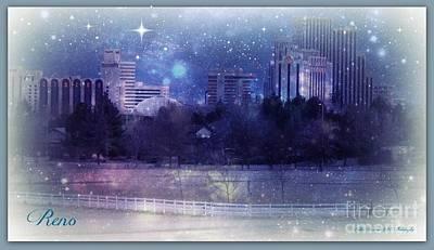 Reno Winterized Print by Bobbee Rickard