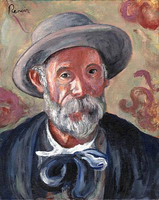 Artist Self Portrait Painting - Renoir by Tom Roderick