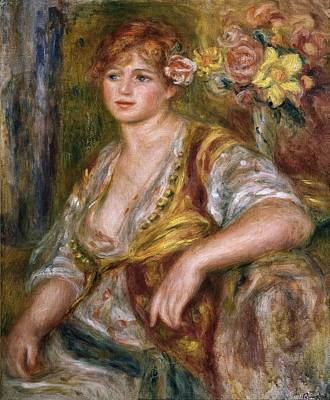 Pictur Photograph - Renoirpierre-auguste 1841-1919. Blonde by Everett