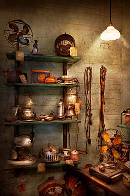 Toaster Photograph - Repair - In The Corner Of A Repair Shop by Mike Savad