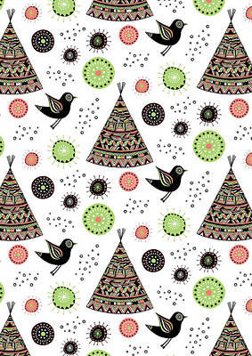 Repeat Print - Wild Night Print by Susan Claire