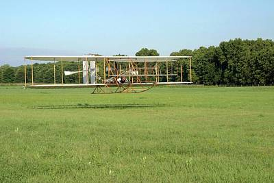 Replica Wright Flyer Print by National Park Service/us Department Of Energy