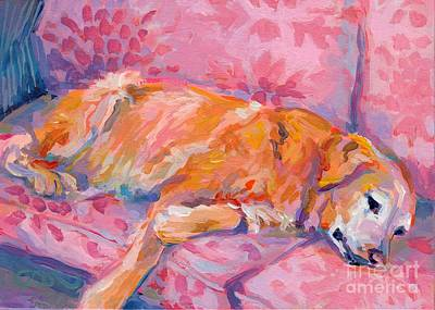Hot Dogs Painting - Repose by Kimberly Santini