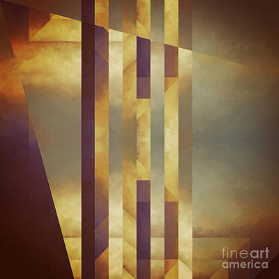 Repressed Altarpiece Print by Lonnie Christopher
