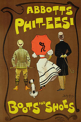 Reproduction Of A Poster Advertising Print by Dudley Hardy