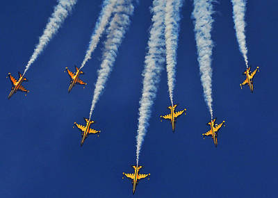 Photograph - Republic Of Korea Air Force Black Eagles by Science Source