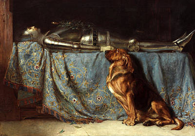 Briton Painting - Requiescat by Briton Riviere