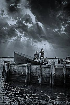 Allegory Photograph - Rescue Us by Joachim G Pinkawa