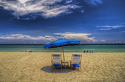Photograph - Reserved For Two by Island Photos
