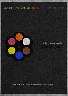 Vector Mixed Media - Reservoir Dogs by Ayse Deniz