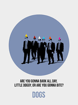 Famous Digital Art - Reservoir Dogs Poster  by Naxart Studio
