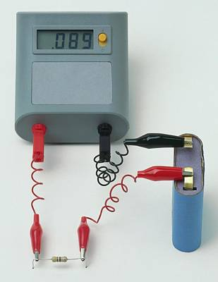 Resistor Photograph - Resistance Test by Dorling Kindersley/uig