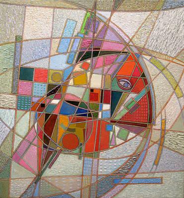 Racei Painting - Resistant. 2012 by Yuri Yudaev-Racei