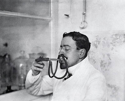 Benedict Photograph - Respiratory Physiology Research by National Library Of Medicine