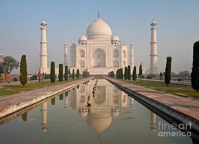 Hindu Photograph - Resplendent Taj Mahal by Mike Reid