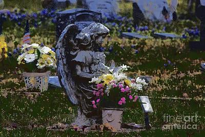 R.i.p Photograph - Rest In Peace V2 by Douglas Barnard