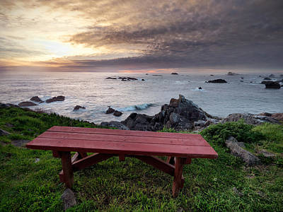 Best Ocean Photograph - Restful Ocean View by Leland D Howard