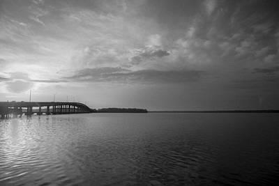 Palatka Bridge Photograph - Restorative Waters by Toni Hopper