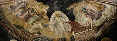 Byzantine Photograph - Resurrection Of Adam And Eve Panorama by Stephen Stookey