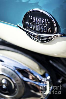 Harley Davidson Photograph - Retro Harley Davidson by Tim Gainey