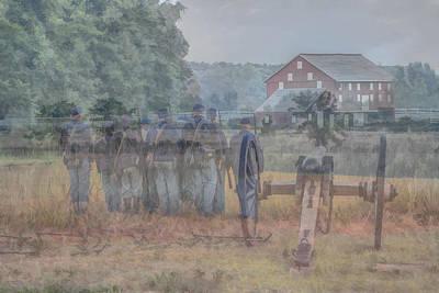 Ghost Digital Art - Return To Gettysburg by Randy Steele