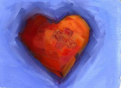 Painting - Return To Love by Mary Byrom
