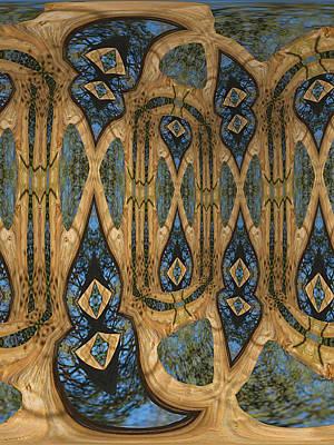 Return To Norwegian Wood Print by Wendy J St Christopher