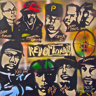 Moral Painting - Revolutionary Hip Hop by Tony B Conscious
