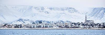 Reykjavik City - Iceland Print by Arnar B Gudjonsson