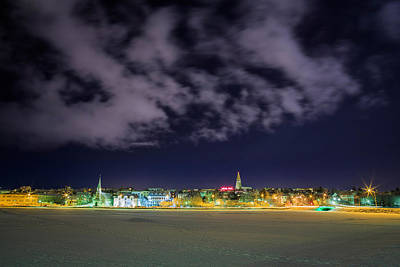 Reykjavik Skyline, Iceland Print by Panoramic Images