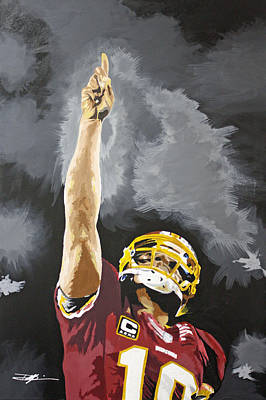 Robert Griffin Drawing - Rg IIi by Don Medina