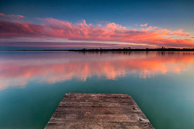 Rgb Photograph - Rgb Sunset by Davorin Mance