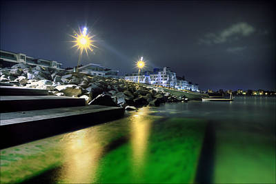 Sea Photograph - Green Waters by EXparte SE