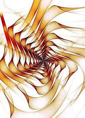 Ribbons Print by Anastasiya Malakhova