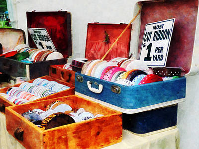 Fair Photograph - Ribbons For Sale by Susan Savad