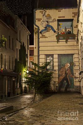 Brussels Photograph - Ric Hochet by Juli Scalzi