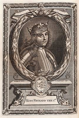Richard I Print by Middle Temple Library