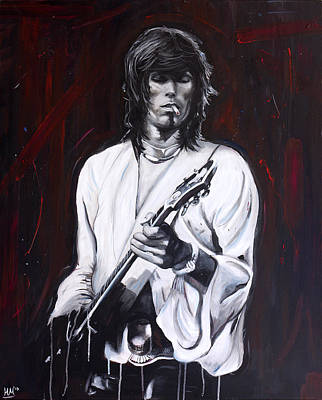 Keef Painting - Richards by Harry Moses