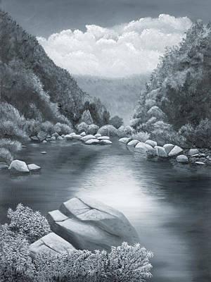 Richland Creek Original by Garry McMichael