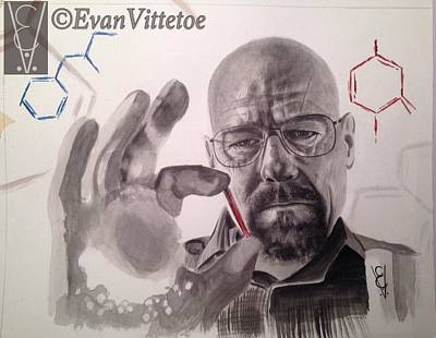 Ricin Print by Evan Vittetoe