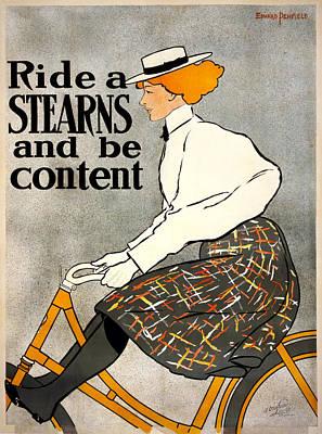 Ride A Stearns  Print by Georgia Fowler