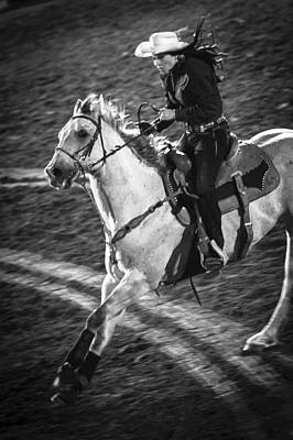 Barrel Racing Photograph - Ride by Caitlyn  Grasso