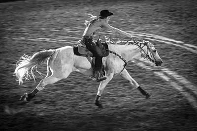 Barrel Racing Photograph - Ride Like The Wind by Caitlyn  Grasso