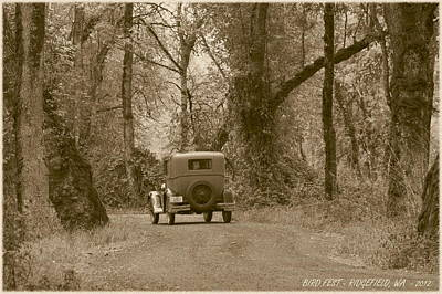 Horseless Carriages Photograph - Ridgefield Nostalgia by Angie Vogel