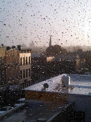 Ridgewood Wet With Rain Print by Mieczyslaw Rudek Mietko
