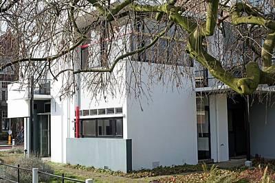 De Stijl Photograph - Rietveld Schroder House Utrecht I by Dirk Wiersma
