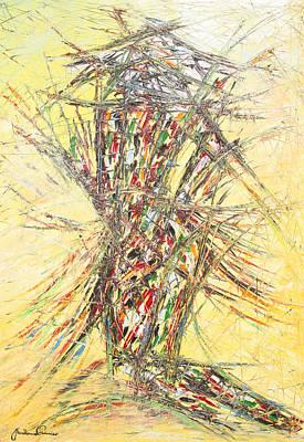Quadri Painting - Riflessi Di Un Arlecchino by Enrico Nicodemo